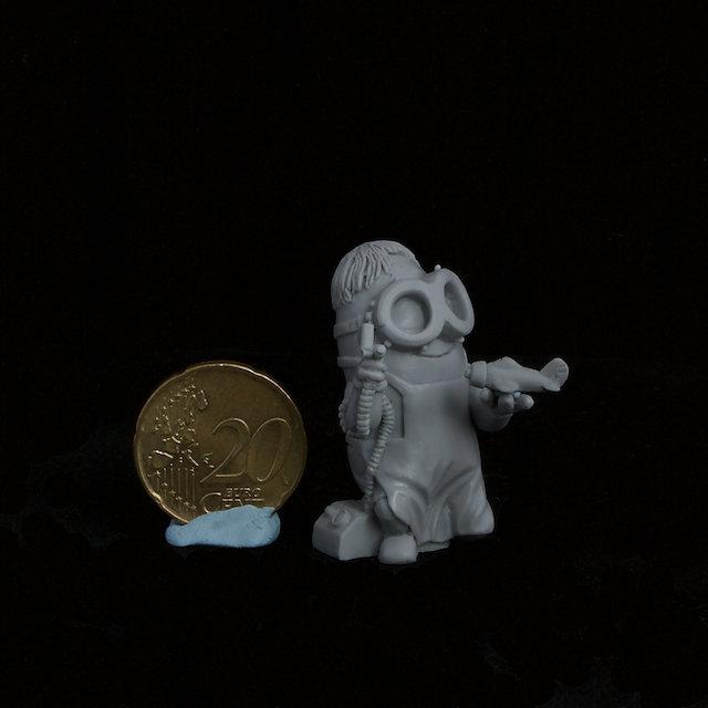 ScaleModeler Minion resin figure