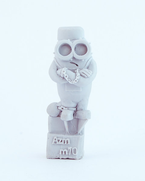 Prisoner Minion resin figure