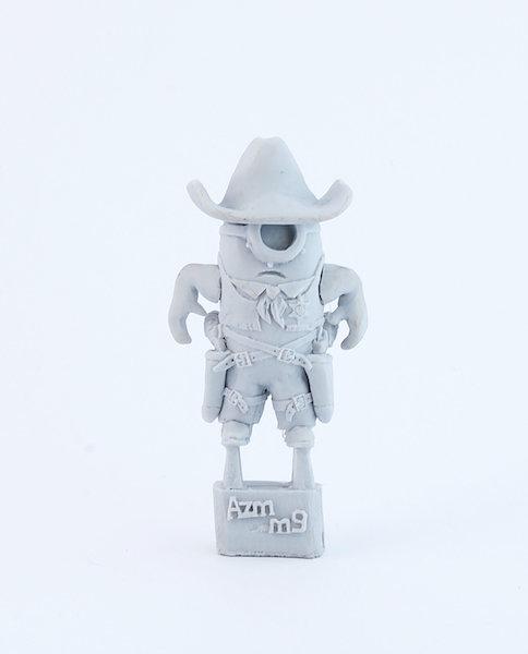 Sheriff Gunslinger Minion resin figure