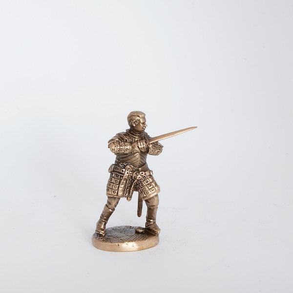 40mm Brienne of Tarth, Game Of Thrones brass miniature