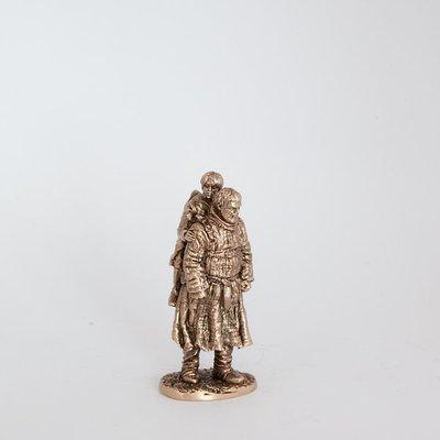 40mm Hodor & Bran Stark, Game Of Thrones brass miniature