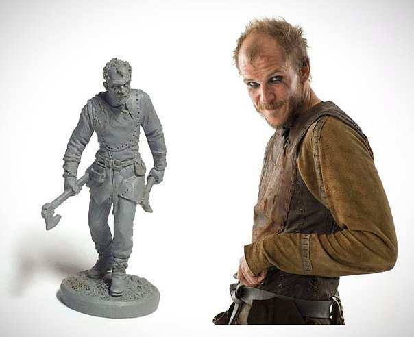 40mm Floki, Vikings metal miniature