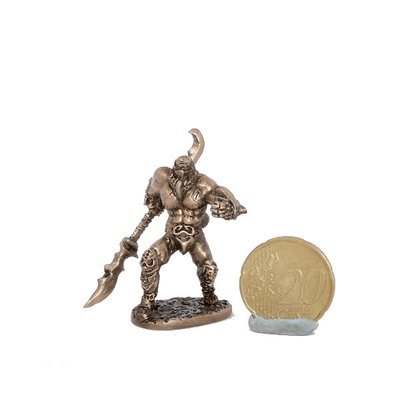 40mm Bonegnasher, The Black Company brass miniature