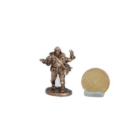 40mm Goblin Wizard, The Black Company brass miniature