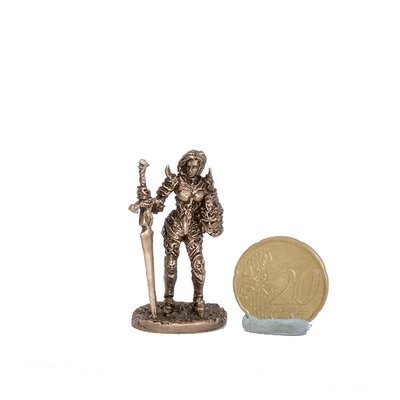 40mm Lady, The Black Company brass miniature