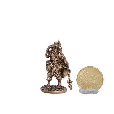 40mm One-Eye Wizard, The Black Company brass miniature