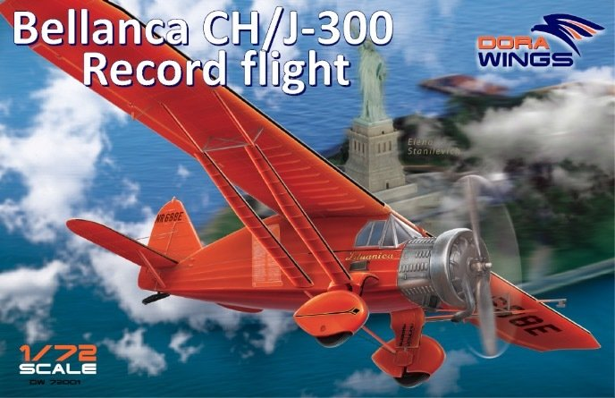 "DoraWings 1/72 Bellanca CH/J-300 ""Record flights"""