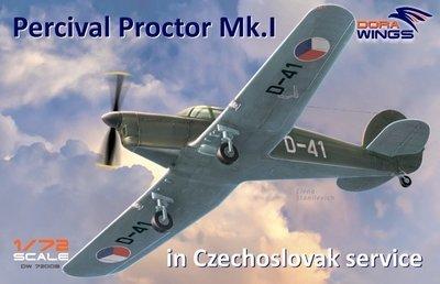 DoraWings 1/72 Percival Proctor Mk.1 marking of Czechoslovakia