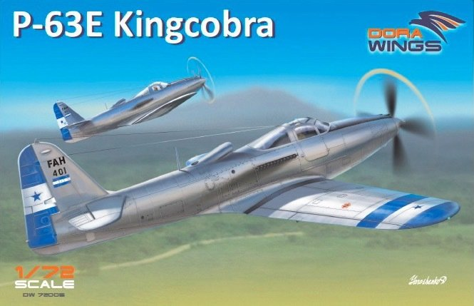 DoraWings 1/72 Bell P-63E-1-BE Kingcobra