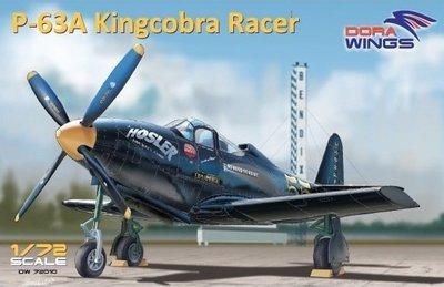 DoraWings 1/72 Bell P-63A Kingcobra Racer (Sohio Handicap)