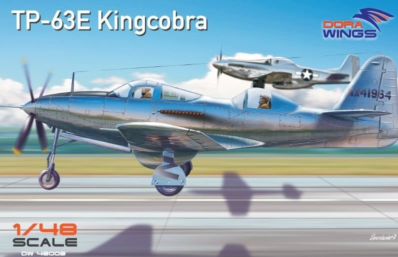 DoraWings 1/48 Bell TP-63E Kingcobra (Two seat)