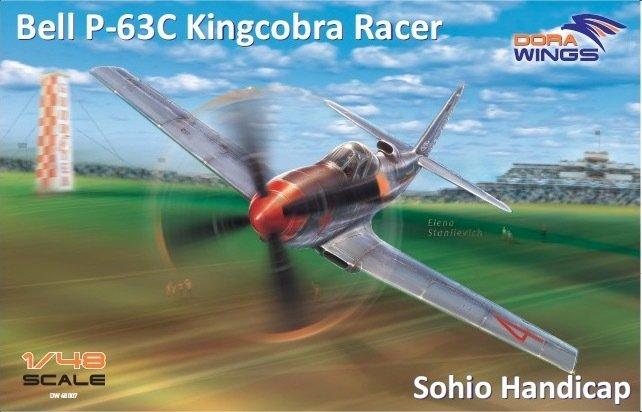 DoraWings 1/48 Bell P-63C Kingcobra Racer