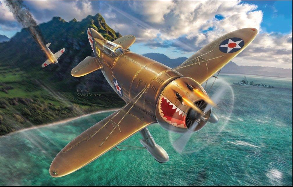 """DoraWings 1/48 Granville P-45B """"Bee Killer"""" (What if..?)"""