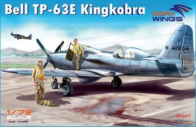 DoraWings 1/72 Bell TP-63E Kingcobra (Two seat)