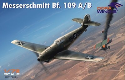 DoraWings 1/72 Messershmitt Bf.109 A/B Legion Condor
