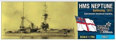 Combrig 1/700 HMS Neptune Battleship, 1911, resin kit #70627PE
