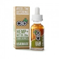 HEMP AND MCT OIL TINCTURE 30ML