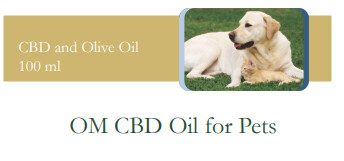 OM CBD Oil for Pets (100ml)