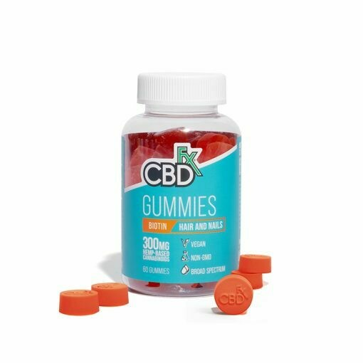 CBD Gummies with Biotin for Hair and Nails 300mg