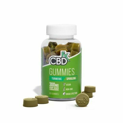 CBD Gummies with Turmeric and Spirulina 300mg