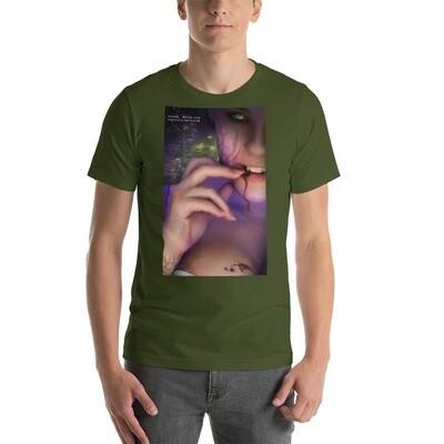 Short-Sleeve Unisex T-Shirt - BITTEN - LARGE SIZES