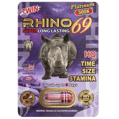 Rhino Platinum 300k (Capsule)