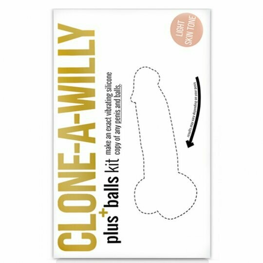 Clone-a-willy + Balls Kit (NEW)