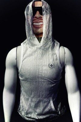 Andrew Christain Hoodie (Sheer White)