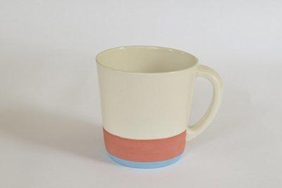Large Mug - Red and Blue