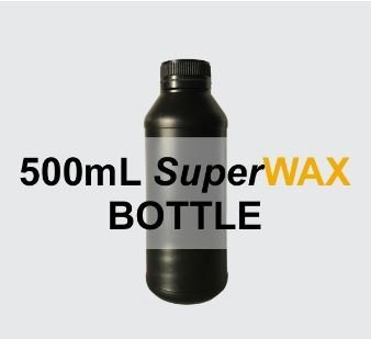 SuperWAX-V2 500ml, Red 3D printing wax like polymer for direct Pt or  Au casting