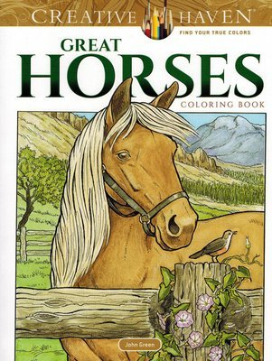 Horse Coloring Books For Kids | Realistic Horse Coloring Books