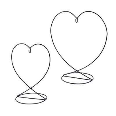 Nobile Friendship Heart Stand 12cm