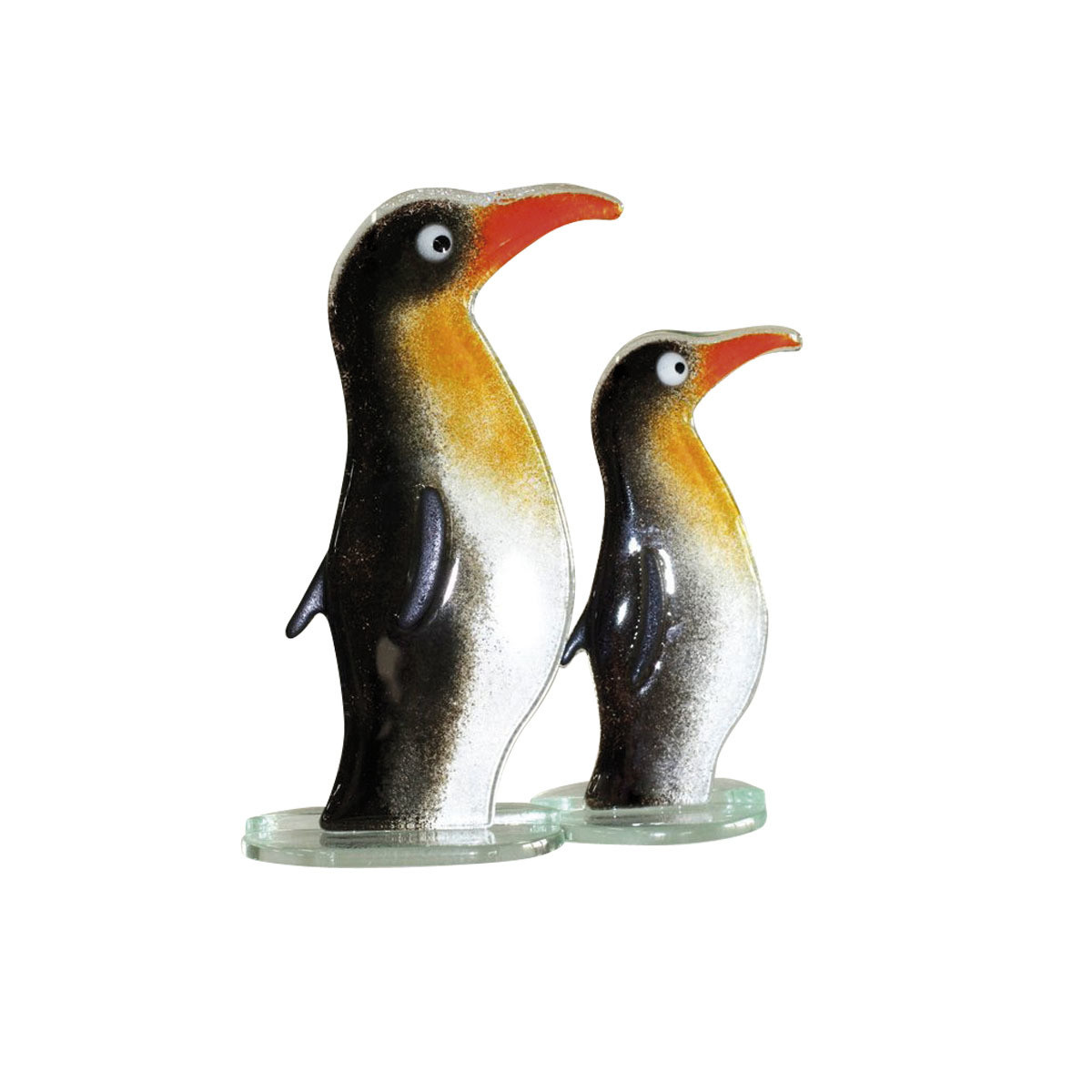 Nobile Glass Fused Glass Penguin Large