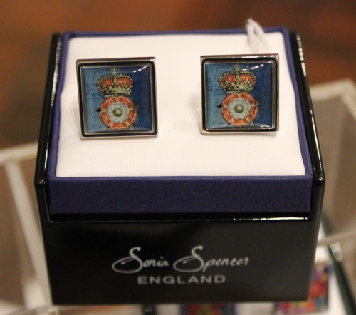 Tudor Rose & Crown Cufflinks