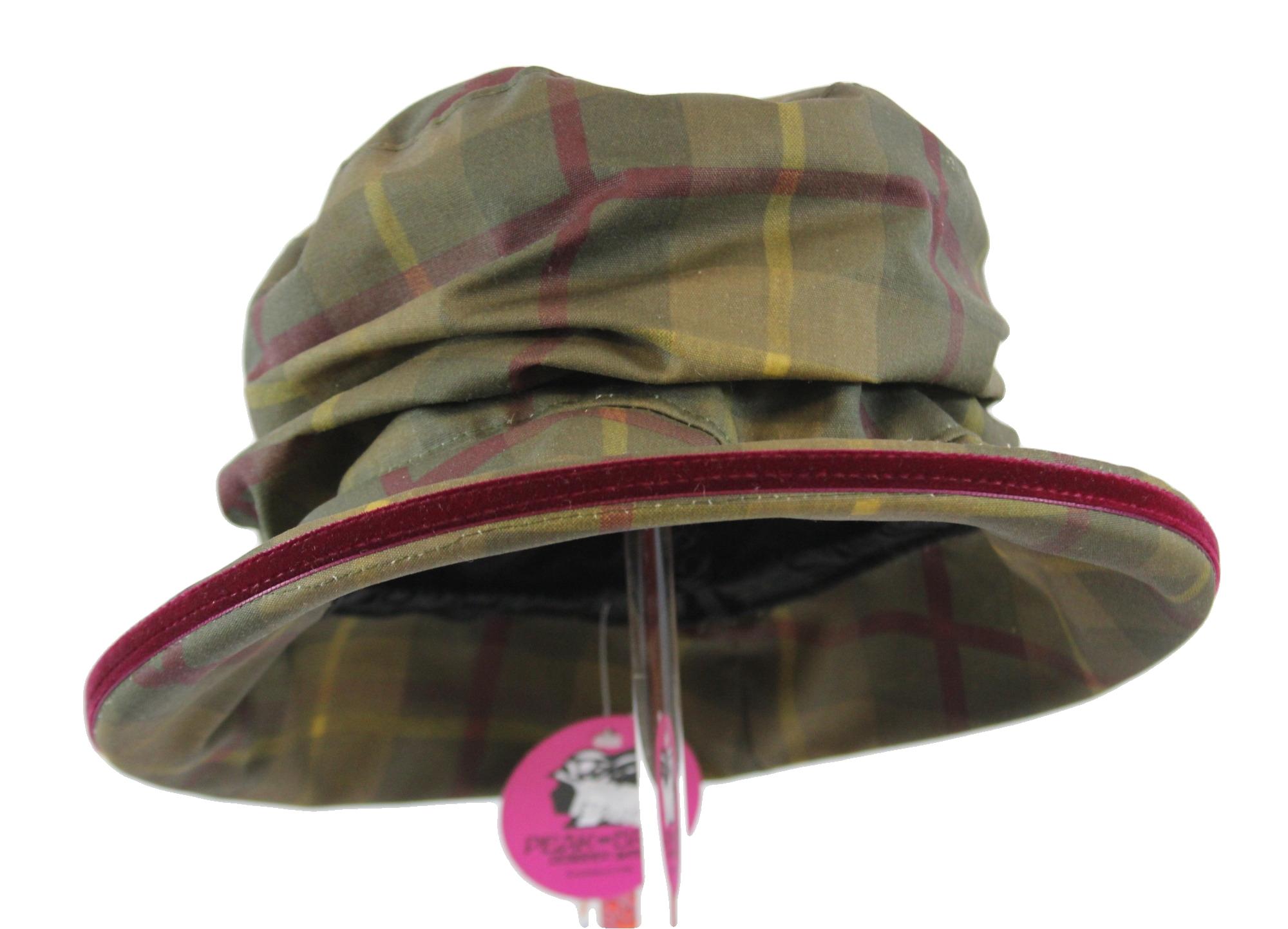 Peak & Brim - Bonnie - Tartan Wax Hat BTW