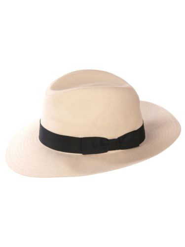 Olney Milano Wide Brim Linen Hat R4431