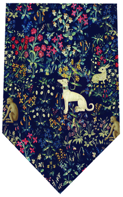Cluny Tapestry Silk Tie by Fox & Chave