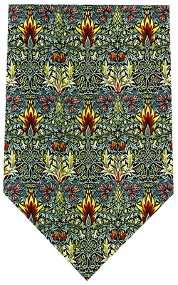 Morris Snakehead Silk Tie by Fox & Chave