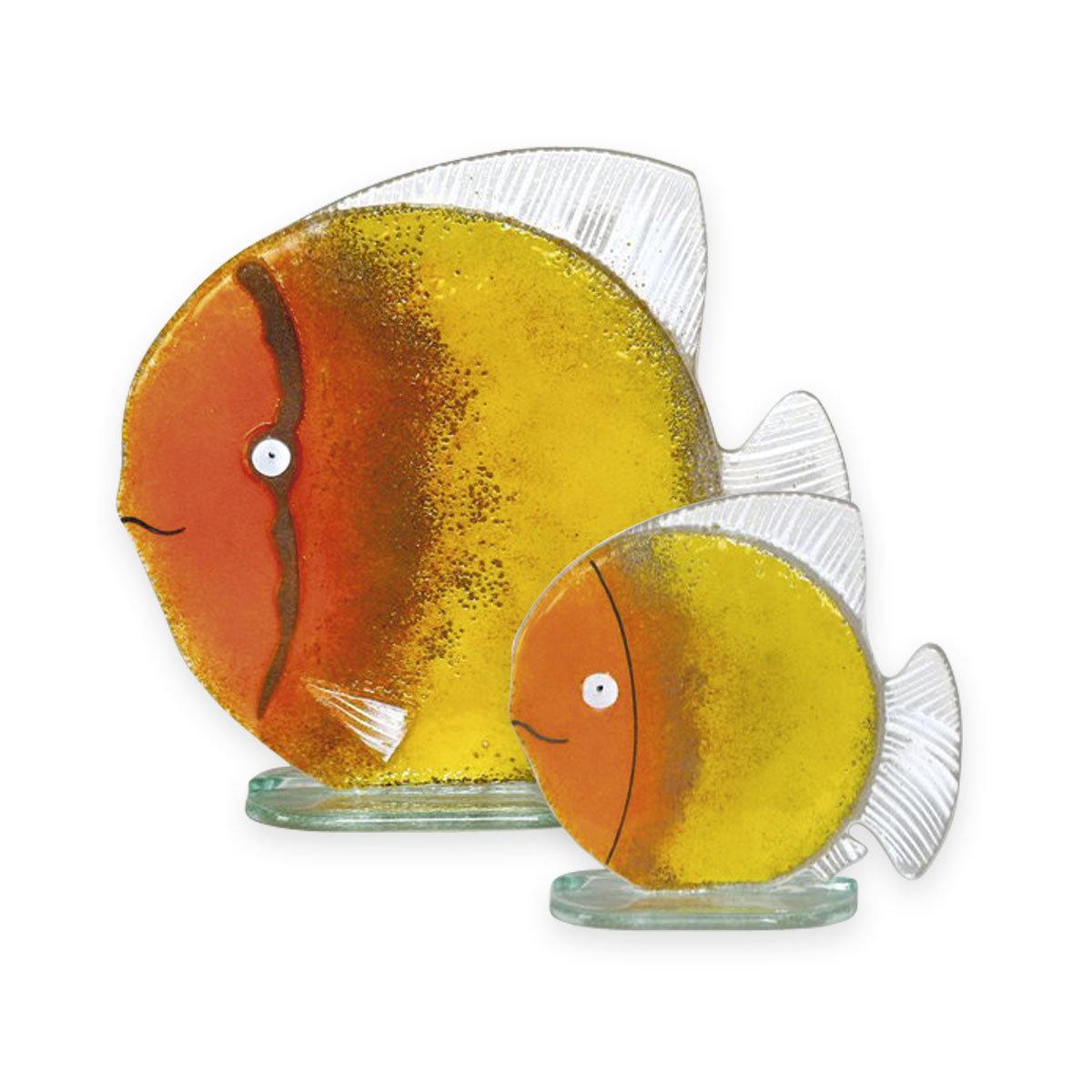 Nobile Glass Fused Glass Fish Sunrise Small 1541-16