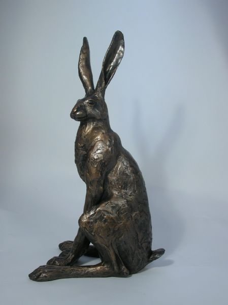 Large Sitting Hare - Frith Sculpture SA001