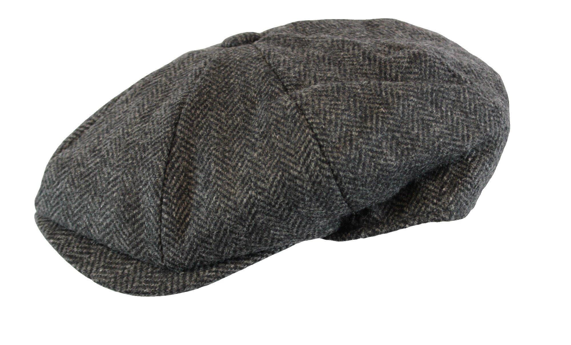Denton Gatsby in Black Herringbone 91107