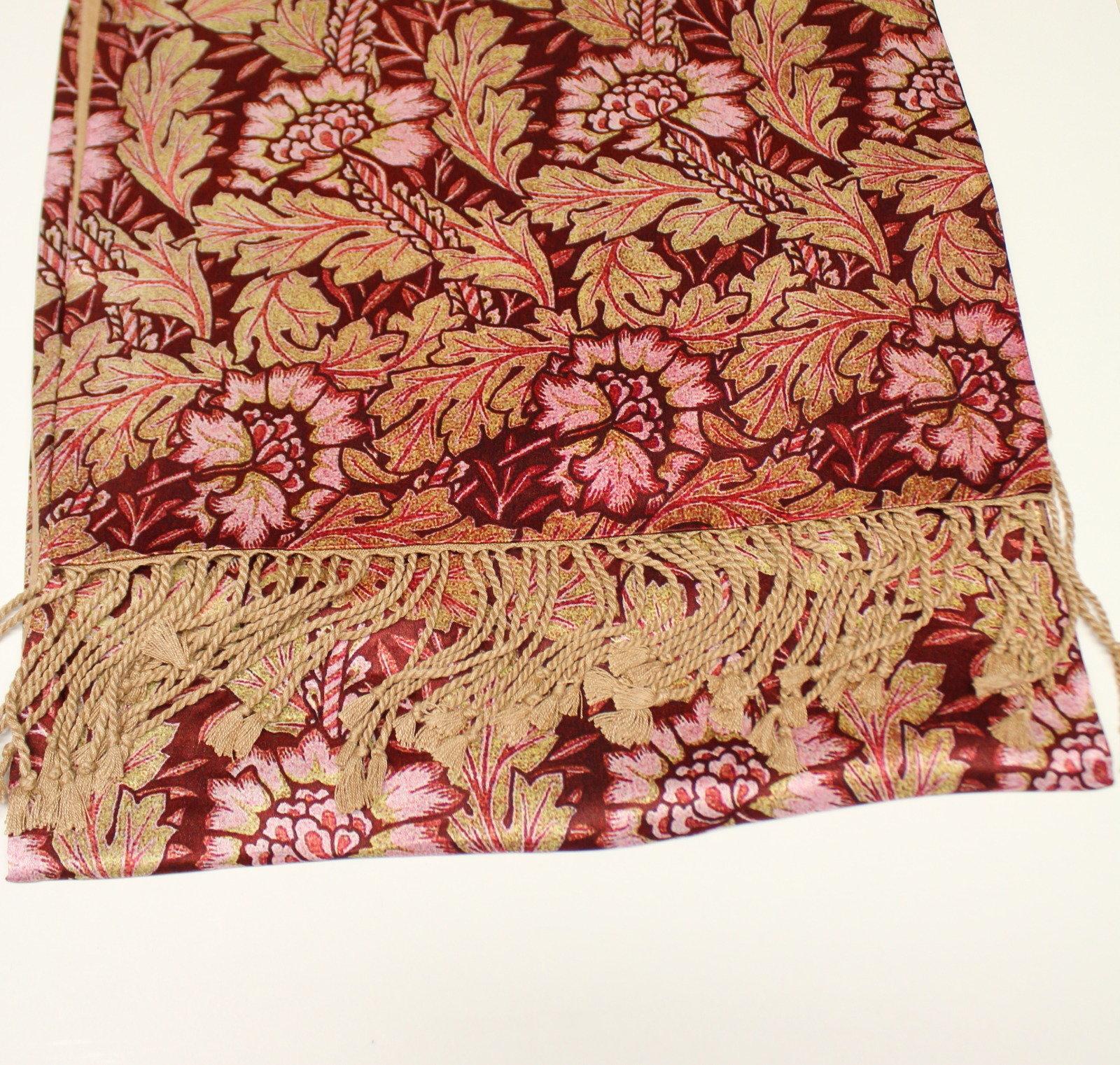 Anemones Silk Manscarf 29-006