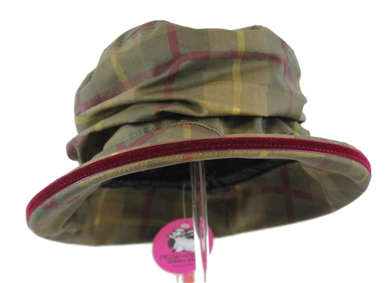 Peak & Brim - Bonnie - Tartan Wax Hat