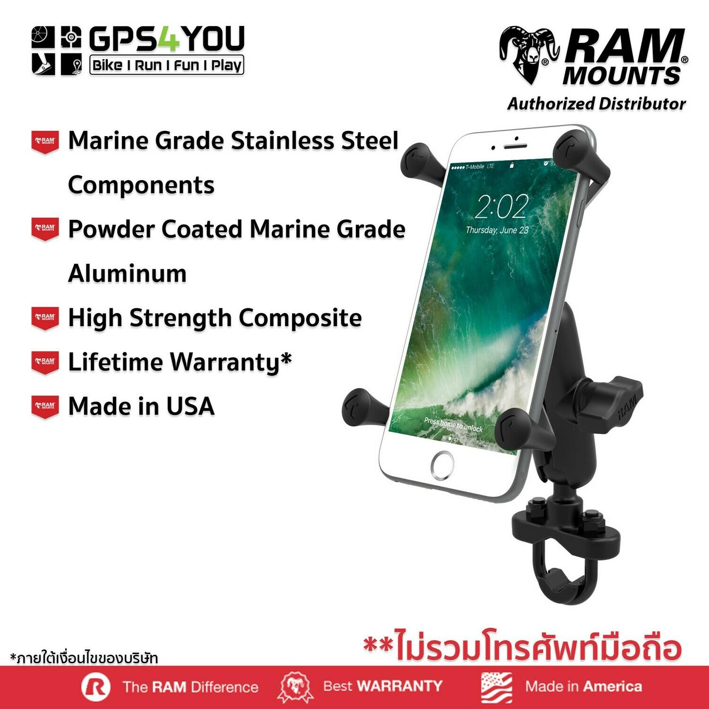 RAM MOUNTS RAM-HOL-UN10BU ตัวจับโทรศัพท์ขนาดใหญ่แบบ X-Grip