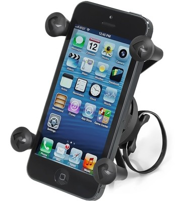 RAM EZ-ON/OFF™ Bicycle Mount with Universal X-Grip™ Phone Holder