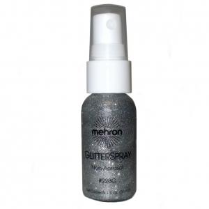 Glitter Spray Pump Silver