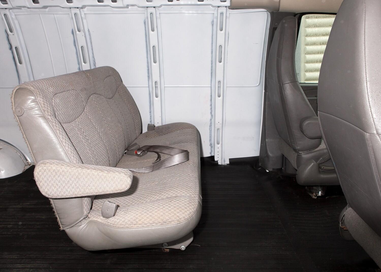GMC Savana Bench Seat