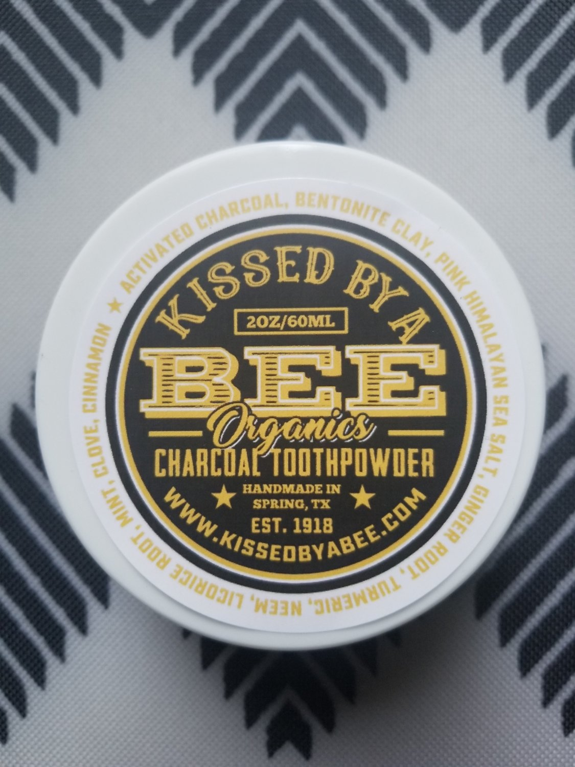 Charcoal Tooth Powder - FEATURED ON DR. OZ (2 oz)