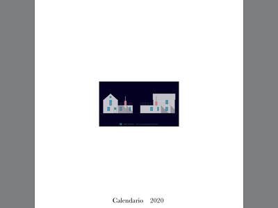 calendario 2020 ( design di Ruggero Pierdomenico )