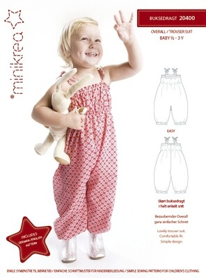 Sewing pattern for Summer Overalls